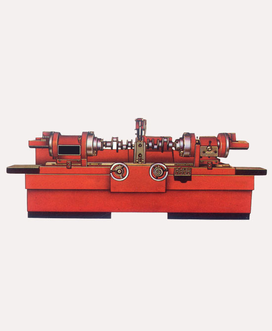 crank shaft regrinder machine
